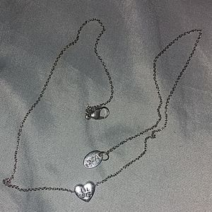 Claire's lil sister necklace